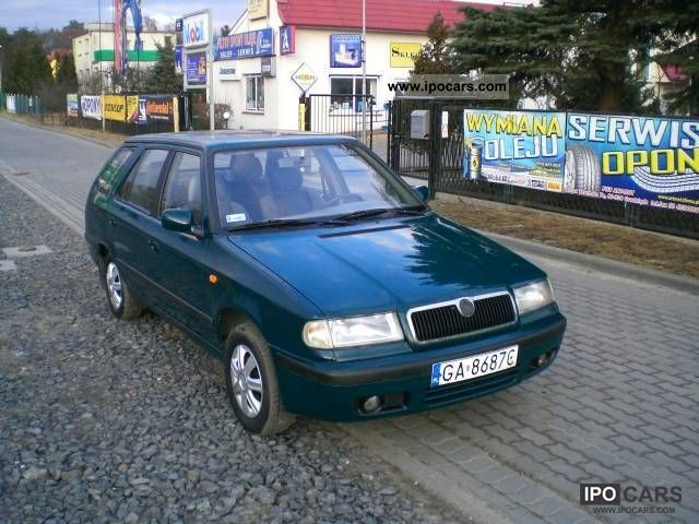 1999 Skoda  Felicia Z GAZEM!! 1999 ROK STAN BDB Estate Car Used vehicle photo