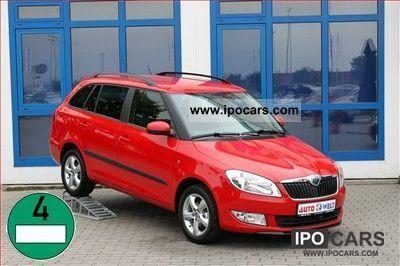 2011 Skoda  Fabia Combi 1.2i alloy wheels roof rails IMMEDIATELY VER Estate Car New vehicle photo