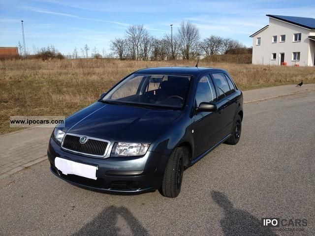 2005 skoda fabia 1 2 htp car photo and specs. Black Bedroom Furniture Sets. Home Design Ideas