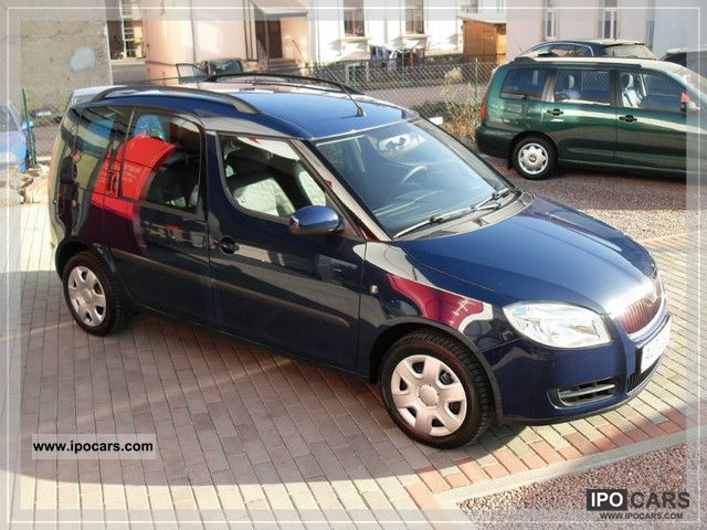 2009 skoda roomster 1 6 16v 1 hand 27 tkm air. Black Bedroom Furniture Sets. Home Design Ideas