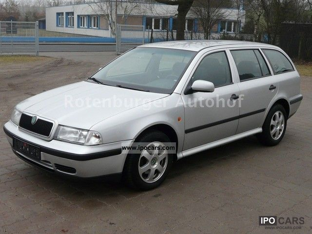 2000 skoda octavia 1 9 tdi combi climate control cruise control apc car photo and specs. Black Bedroom Furniture Sets. Home Design Ideas