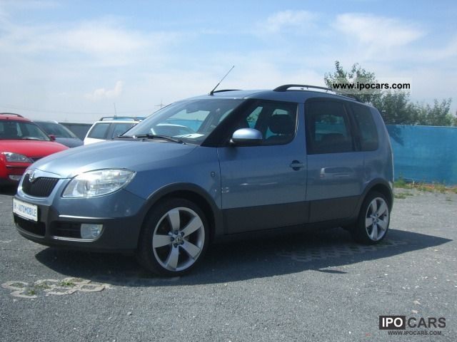 2008 skoda roomster scout 1 9 tdi dpf klimaaut bc alu 17 car photo and specs. Black Bedroom Furniture Sets. Home Design Ideas
