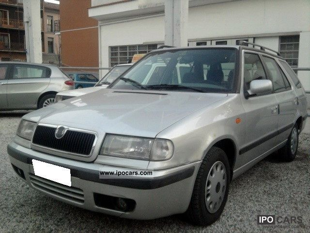 2000 Skoda  Felicia 1.6 Comfort Wagon GLX cat Estate Car Used vehicle photo