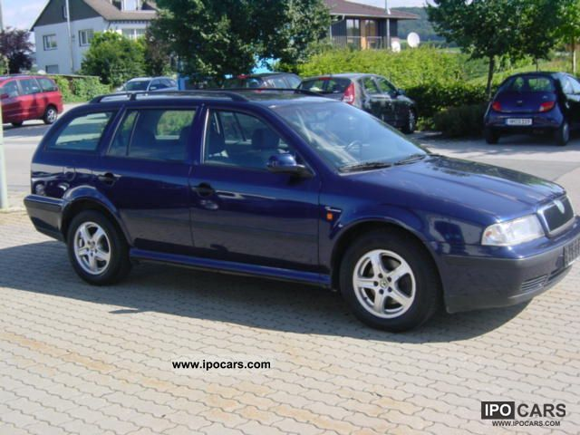 2000 skoda octavia combi 1 9 tdi 2 hd air new kd car photo and specs. Black Bedroom Furniture Sets. Home Design Ideas
