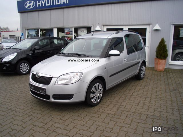 2009 skoda roomster 1 6 16v comfort tiptronic car photo. Black Bedroom Furniture Sets. Home Design Ideas