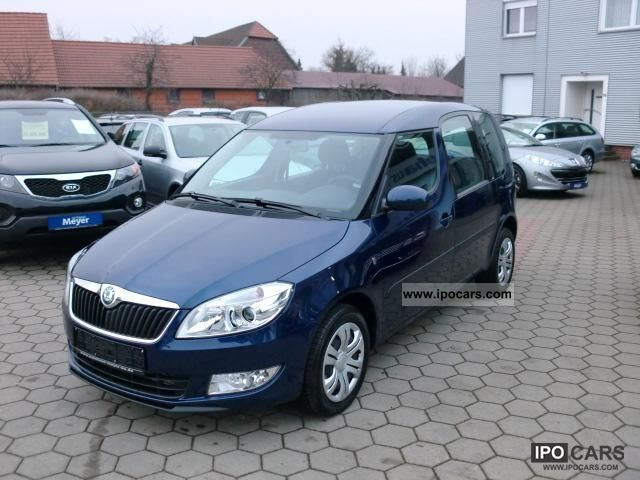 2011 skoda roomster 1 6 tdi 105ps pdc bc efh air smoke car photo and specs. Black Bedroom Furniture Sets. Home Design Ideas