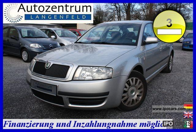 2004 Skoda  Superb Saloon 1.9 TDI * AIR * ALU * AHK * Limousine Used vehicle photo