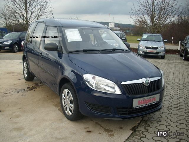 2012 Skoda  1.6l TDI Roomster Active Plus edition with AHK Van / Minibus Pre-Registration photo