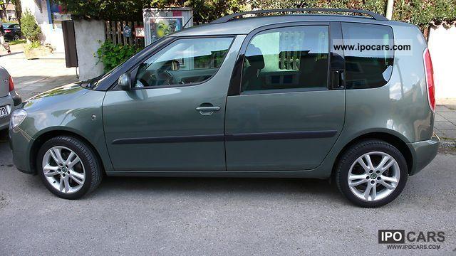 2007 Skoda  1.9TDI DPF Klimatronic tires 9fold TÜV new CD-R Van / Minibus Used vehicle photo