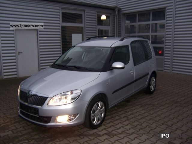 2010 skoda roomster 1 6 tdi pd van style car photo and specs. Black Bedroom Furniture Sets. Home Design Ideas