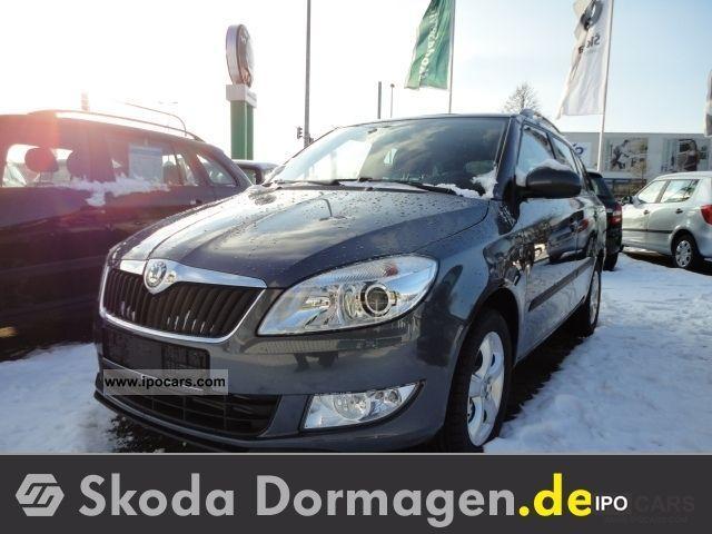 2011 Skoda  Fabia Combi 1.6 TDI price advantage: Â € 2429, - style Limousine Used vehicle photo