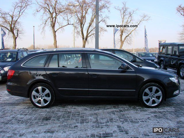 2010 Skoda Superb 18 Inch Alloy Wheels Tsi Amb Navigation