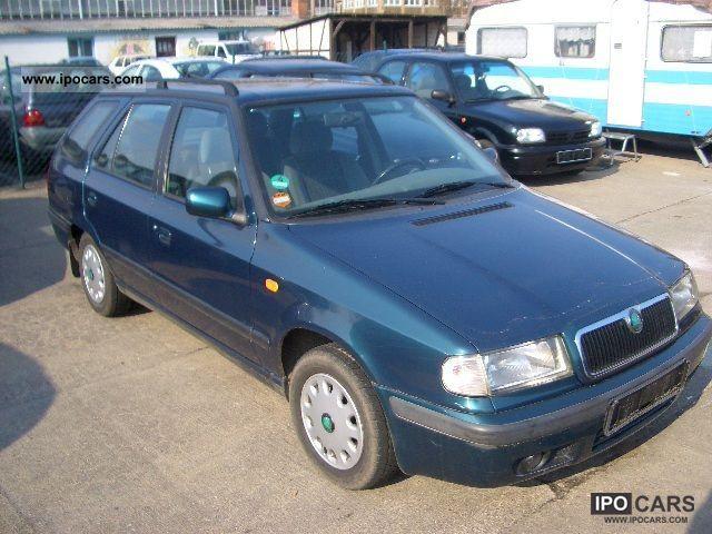 1999 Skoda  1.6 GLX Combi, EURO 2, power, airbag!!!!! Estate Car Used vehicle photo
