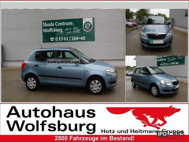 2010 Skoda  Fabia 1.2 Cool Edition (Klima) Limousine Used vehicle photo