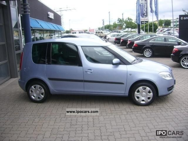 2008 skoda roomster 1 6 16v style car photo and specs. Black Bedroom Furniture Sets. Home Design Ideas
