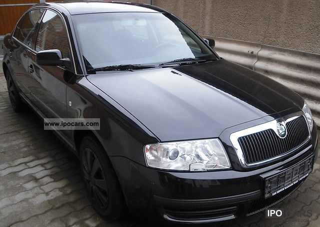 Skoda  Superb 1.8 Turbo Comfort 2004 Liquefied Petroleum Gas Cars (LPG, GPL, propane) photo