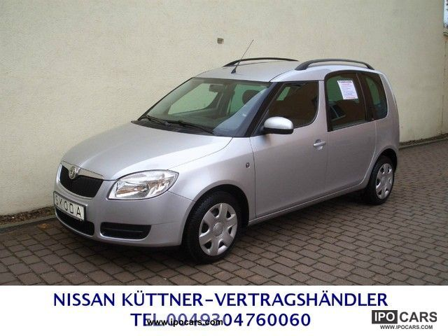 2008 skoda roomster 1 6 16v tiptronic style with a. Black Bedroom Furniture Sets. Home Design Ideas