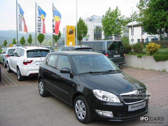 2010 skoda fabia 1.4 16v ambiente - car photo and specs