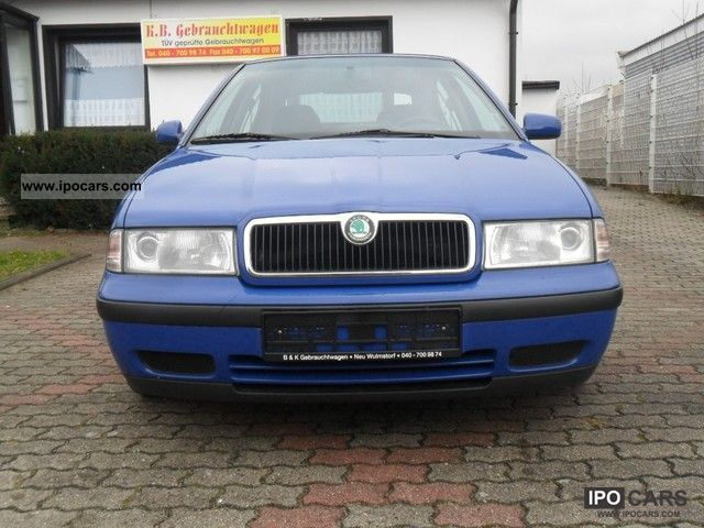 2000 Skoda Octavia Slx 2 0 Pilot Car Photo And Specs