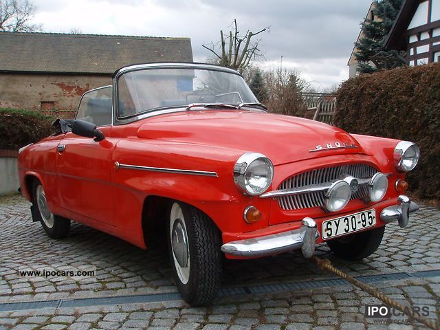 Skoda  Felicia S Convertible 1962 Vintage, Classic and Old Cars photo