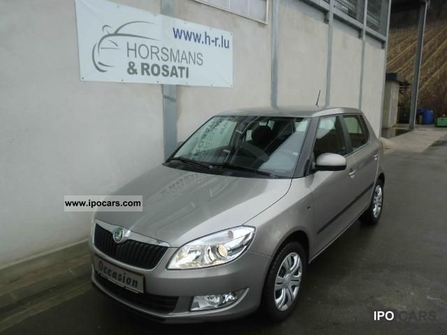 2011 Skoda  Fabia II 1.2 Ambience 60 HP Limousine Used vehicle photo
