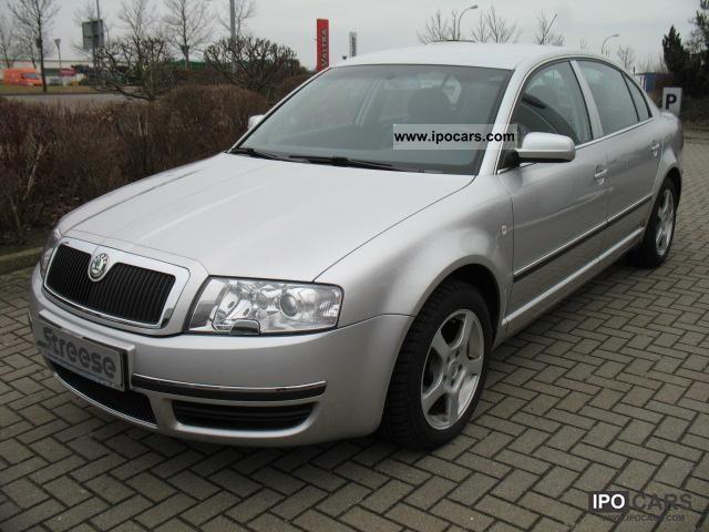 2006 Skoda  Superb Elegance 2.0 liter 140 PS TDI Xenon, Leather, N Limousine Used vehicle photo