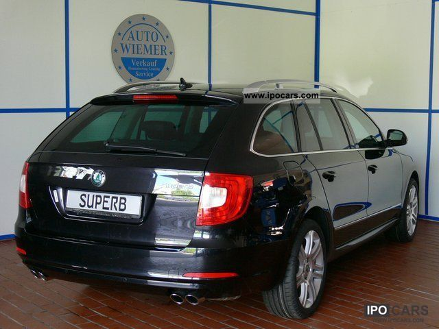 2010 skoda superb combi elegance 3 6 liter v6 4x4 leder navi xen car photo and specs. Black Bedroom Furniture Sets. Home Design Ideas