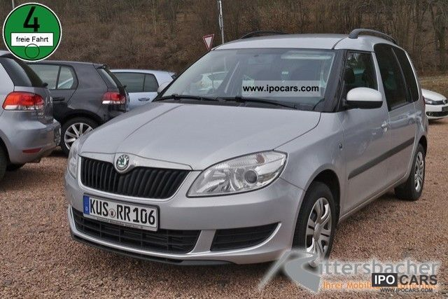 2012 skoda roomster ambition plus edition 1 6 tdi car photo and specs. Black Bedroom Furniture Sets. Home Design Ideas