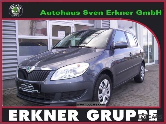2011 Skoda  Fabia II.Ambiente, air, radio Sitzh.vo.CD Small Car Used vehicle photo