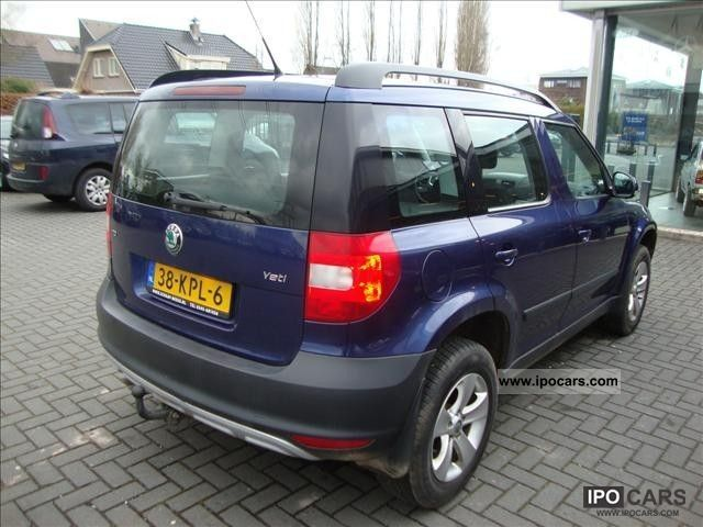 2010 skoda yeti 2 0 tdi 80kw ambition car photo and specs. Black Bedroom Furniture Sets. Home Design Ideas