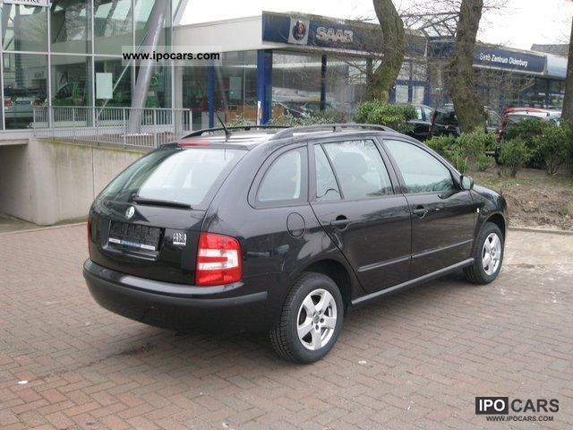 2005 skoda fabia combi elegance car photo and specs. Black Bedroom Furniture Sets. Home Design Ideas