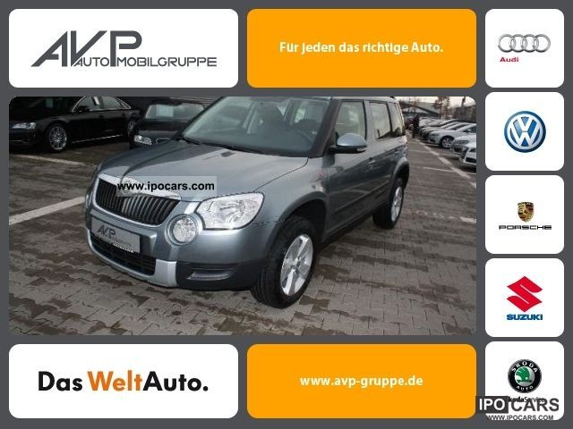 2012 Skoda  Yeti 1.2 TSI * Active Cruise Control Alloy ** City *** Off-road Vehicle/Pickup Truck Employee's Car photo