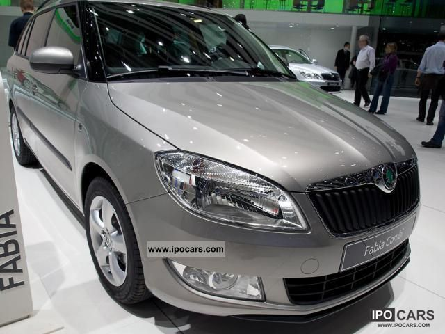 2011 Skoda  Fabia Combi \ Estate Car New vehicle photo