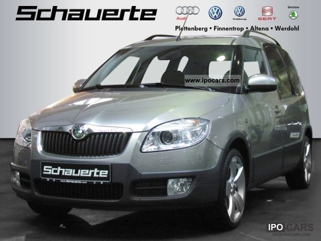 2008 skoda roomster 1 6 39 scout 39 car photo and specs. Black Bedroom Furniture Sets. Home Design Ideas