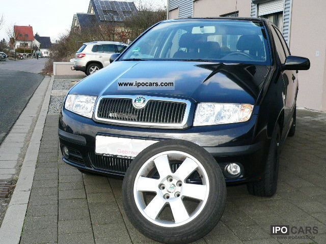 2005 Skoda  Fabia 1.2 Sport with only 49Tkm / top equipment Limousine Used vehicle photo