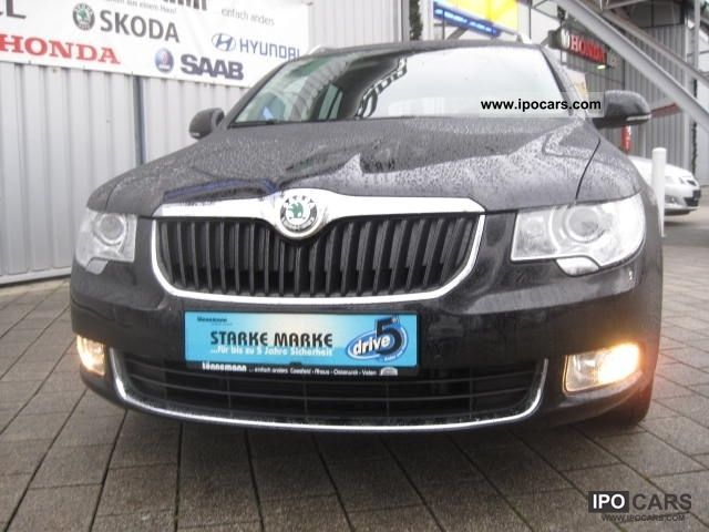 2011 Skoda  Superb TDI Elegance Estate Car Used vehicle photo