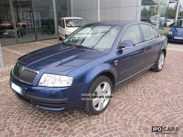 Skoda  Superb Comfort 1.8 T 20V + GPL 2006 Liquefied Petroleum Gas Cars (LPG, GPL, propane) photo
