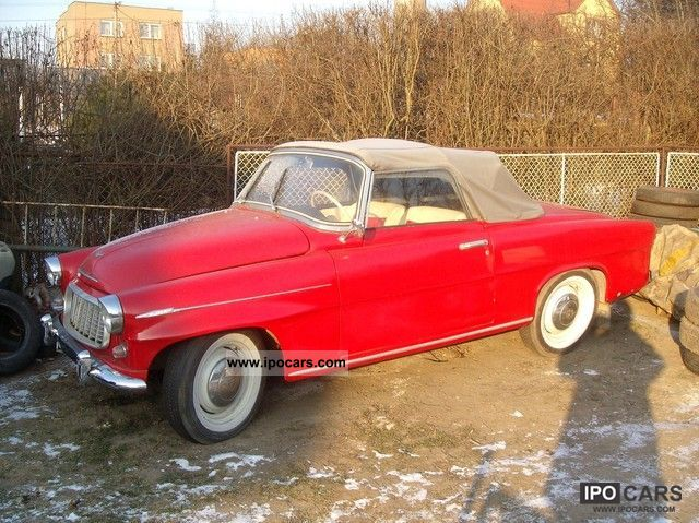 Skoda  450 convertible 1958 Vintage, Classic and Old Cars photo