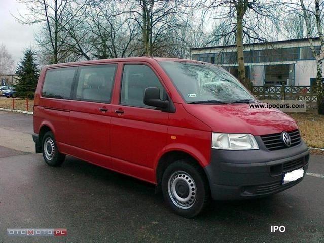 2007 Volkswagen  Transporter LONG AIR-9-bedded SUPER! Van / Minibus Used vehicle photo