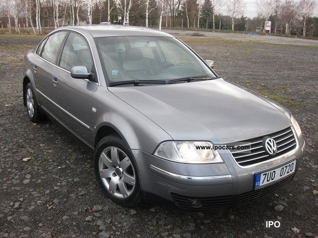 2002 volkswagen passat 1 9 tdi highline car photo and specs. Black Bedroom Furniture Sets. Home Design Ideas