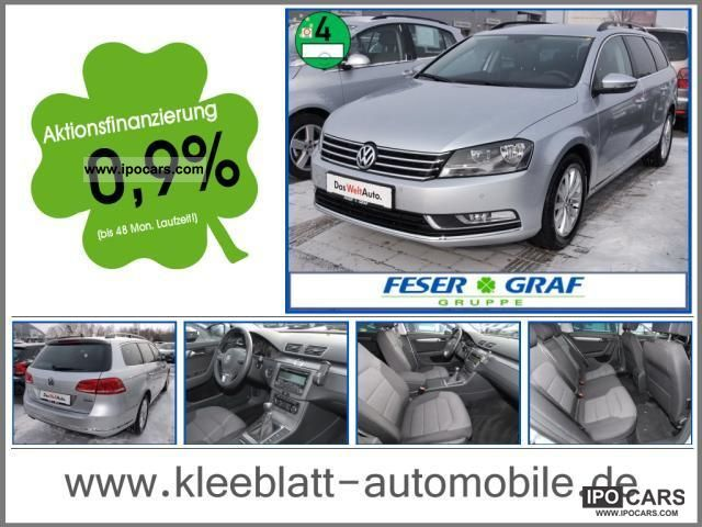 2011 Volkswagen  Passat Variant Comfortline 2.0 TDI BlueMotion Estate Car Used vehicle photo