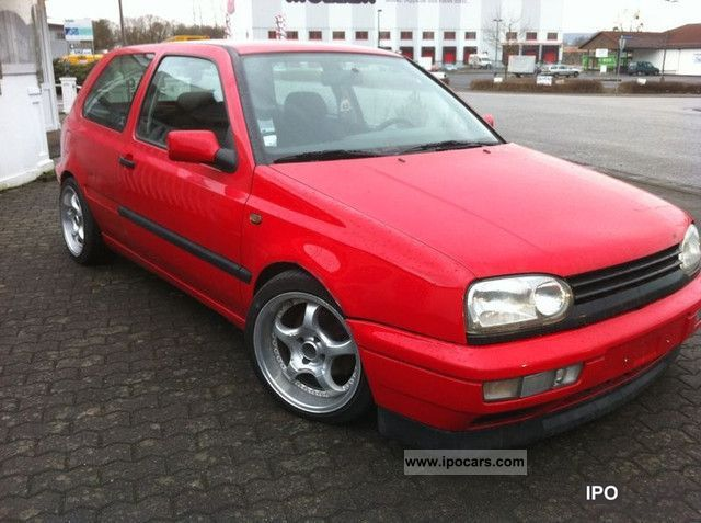 1997 Volkswagen  ** Golf 1.6 GL / air / lowered ** Limousine Used vehicle photo