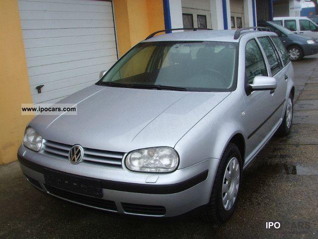 2004 Volkswagen  Golf Variant 1.9 TDI Ocean Estate Car Used vehicle photo