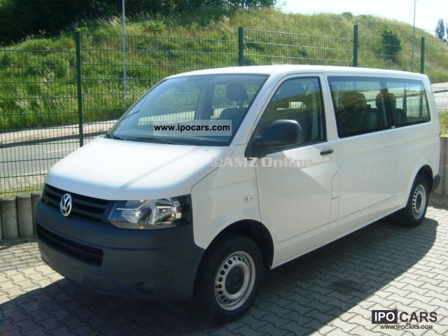 2011 Volkswagen  T5 Kombi Long Trendline 8Sitze climate Van / Minibus Employee's Car photo