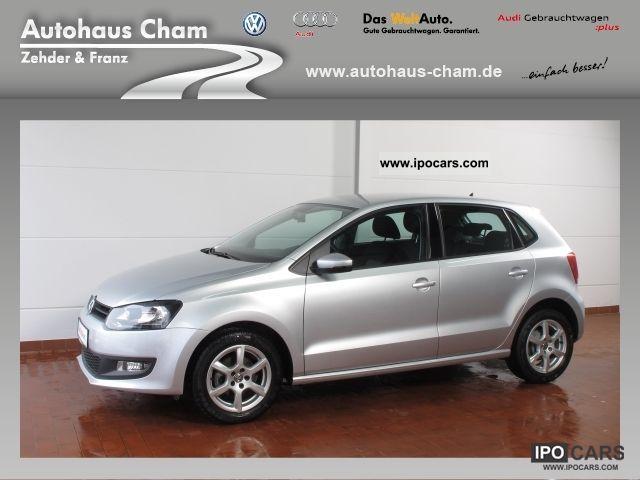2011 Volkswagen  Polo 1.4 Trendline aluminum, leather steering wheel, ESP Limousine Employee's Car photo