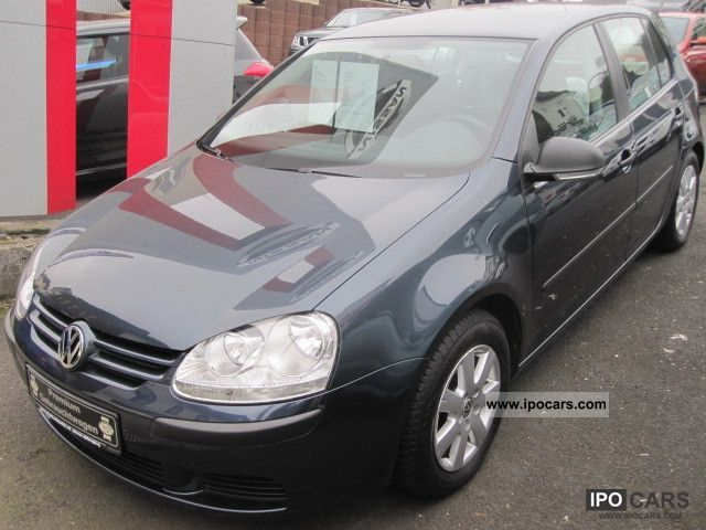 2007 Volkswagen  Golf V 1.6 Trendline Limousine Used vehicle photo