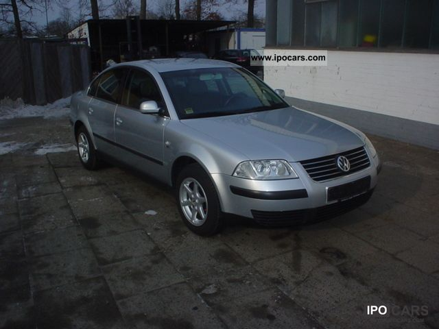 2001 Volkswagen  Passat 1.6 ° ° ° ° AIR CONDITIONING AHK ° ° ° ° 4 EURO Limousine Used vehicle photo