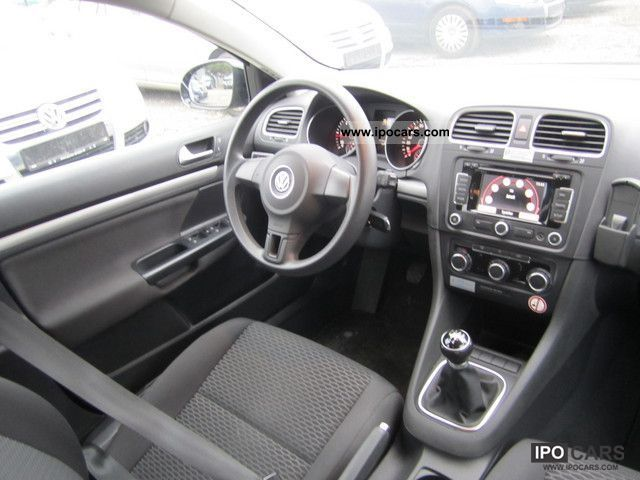 2009 volkswagen golf 6 1 6 tdi navi car photo and specs. Black Bedroom Furniture Sets. Home Design Ideas