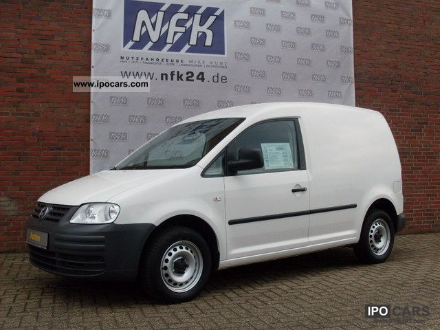 2008 Volkswagen  Caddy SDI, rear hinged door, € 4, ski Van / Minibus Used vehicle photo