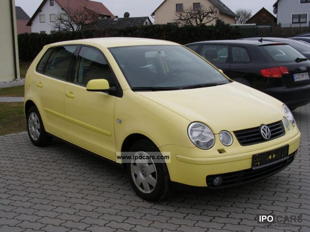 2002 volkswagen polo 1 4 highline car photo and specs. Black Bedroom Furniture Sets. Home Design Ideas